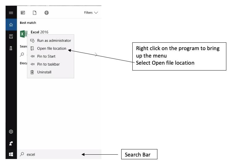 Program Short Cut & Pin to Taskbar -Windows 10 – UKnowtech2